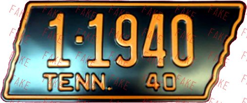 Deceptive and Misleading Plates - Tennessee - ALPCA Archives